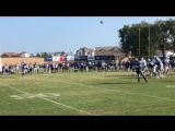 Uncle Rico's one-handed catch #CowboysCamp Day 13