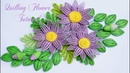 Quilling Daisy Flower Tutorial | Cómo hacer flor de Margarita de papel