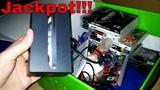 JACKPOT!!! Gamestop Dumpster Dive Night #127