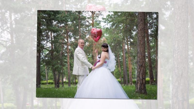 Слайдшоу свадьбы Елены