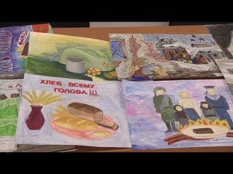 Владимирский хлебокомбинат. Конкурс детского рисунка к 9 мая