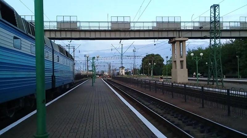 ЧС7-179 один из переданных на Львовскую дорогу из Харькова)