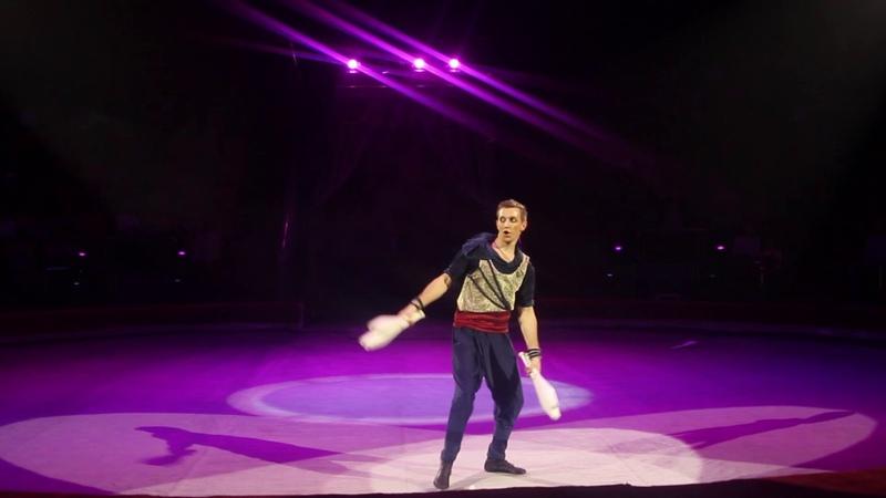Roman Munin Juggling act 2017