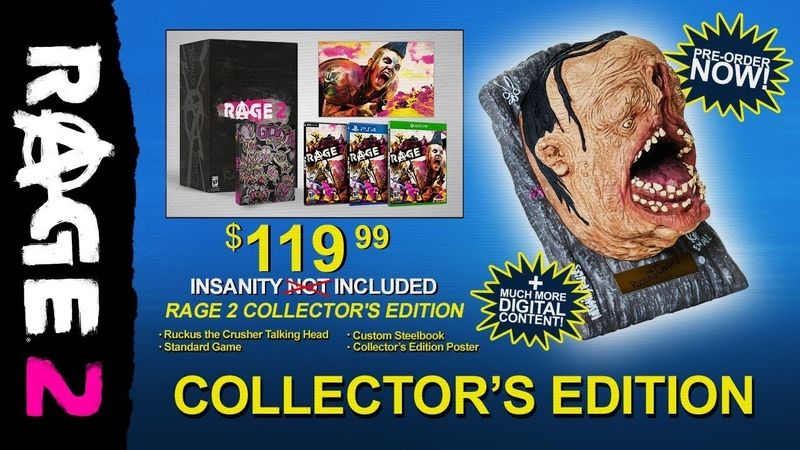 RAGE 2 – Ruckus the Crusher: Collector's Edition