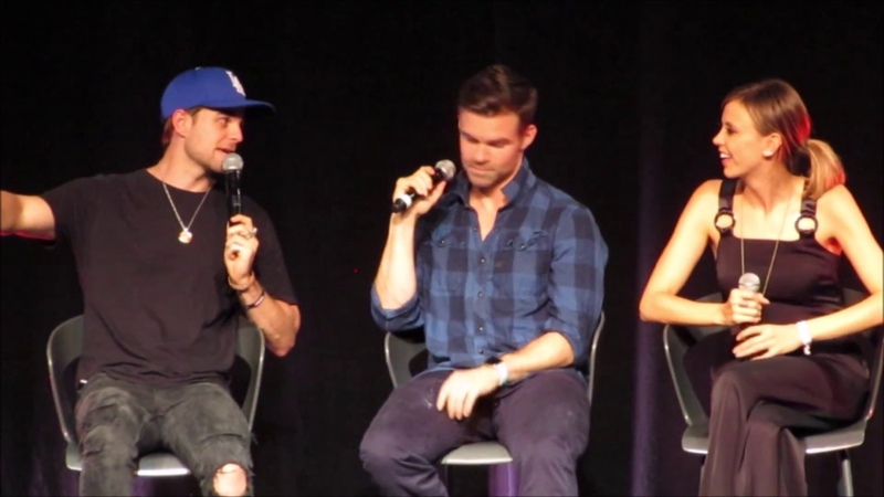 Bloody Night Con Europe 2018 Mikaelson Siblings Panel Closing
