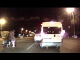 В сети появилось видео, как банда Кокорина и Мамаева избивает белорусского водителя.