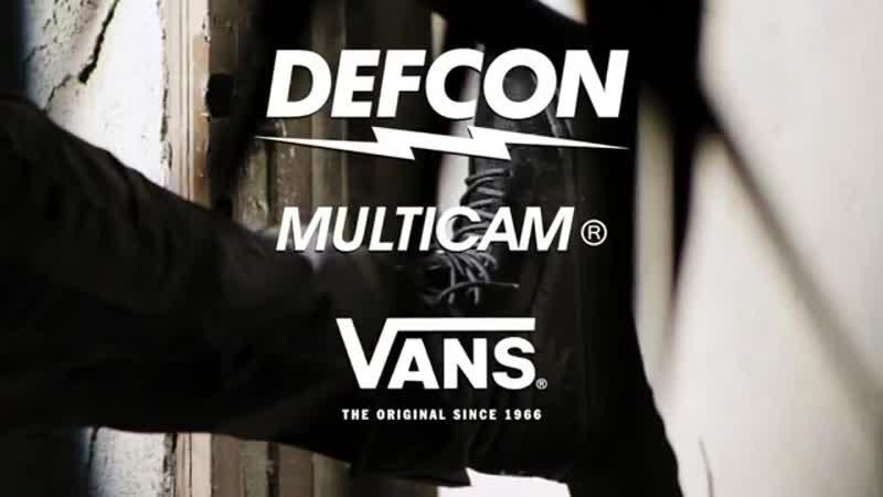 VANS DEFCON SK8-HI NOTCHBACK PRO MULTICAM BLACK, www.lbtinc.ru