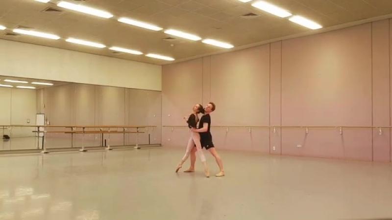 Прима-балерина Нидерландского национального балета Анна Оль