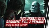 4K Resident Evil 2 Remake Gameplay - 11 Minutes of Claire &amp Ada Action