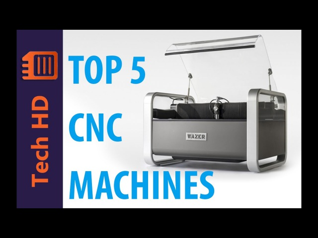 Top 5 Futuristic CNC Machines for your tech creativity ▶3