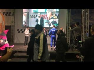 Motorsport Expo. Тема: Дрифт. Андрей Песегов [Aimol/Tuning Factory] и картингист Алексей Шелобанов
