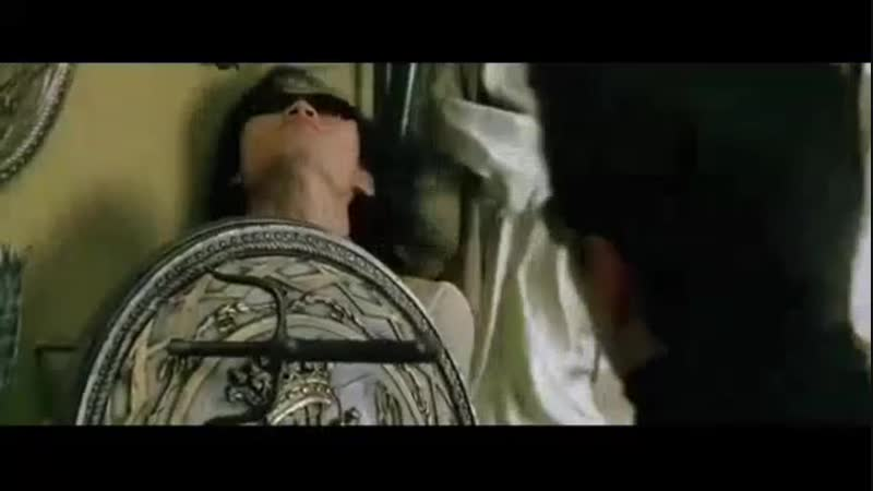 Матрица:Перезагрузка-Нео против людей Меровингина