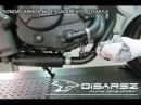 Escapamento Esportivo Curto Disarsz DAFRA NEXT 250
