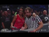 Funny James Ellsworth vs. AJ Styles (Dean Ambrose referee) WWE SmackDown october 11, 2016