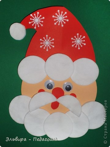 Дед мороз поделки с детьми