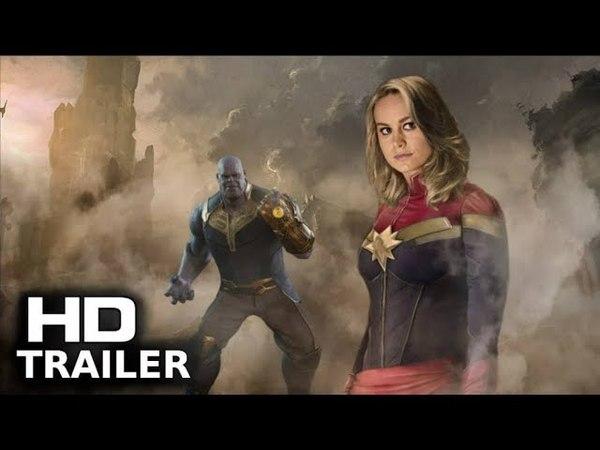 AVENGERS 4: ENDGAME (2019) Teaser Trailer Concept - Captain Marvel [Fan Made]