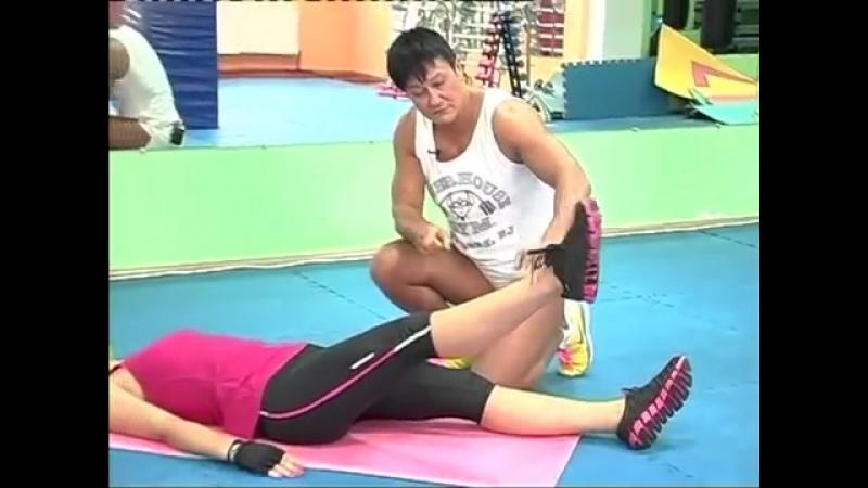 Варикоз - комплекс упражнений для лечения (Анна Куркурина)
