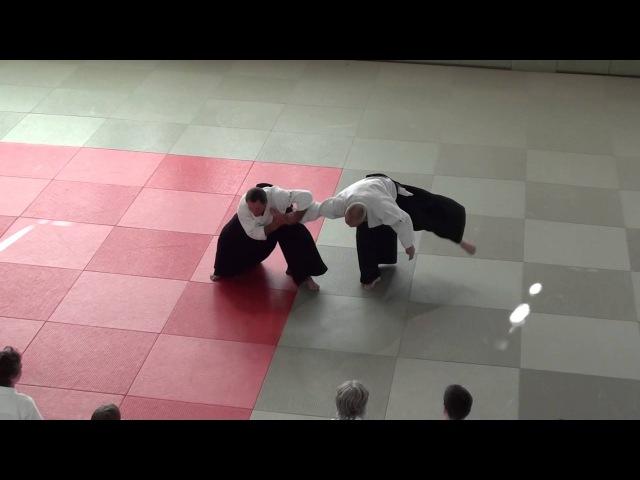 Christian Tissier, 7th Dan Aikikai - A Berlin-Seminar, June 2013, Part XIV