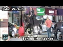 'John Wick 3' Behind The Scenes Keanu Reeves Goes Horseback Through The Streets of NY