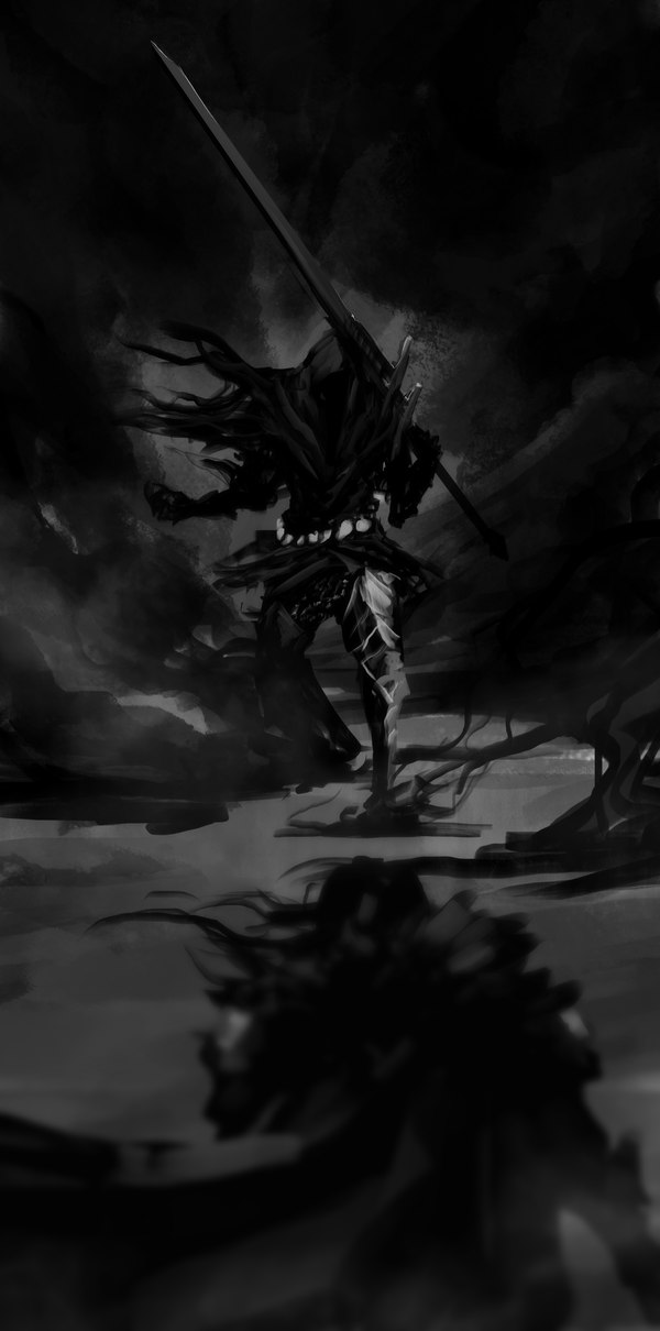 Dark Souls fan-art PTcSVj9uhyI