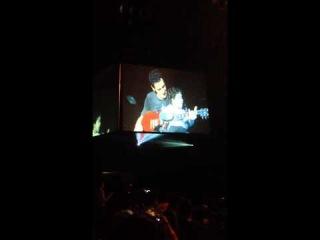 Mollo tocando con Merlín (Luna Park 21/08/2014)