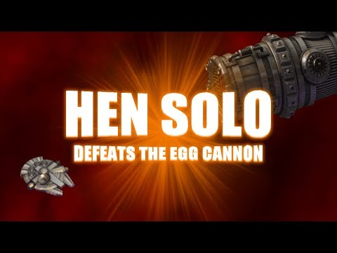Hen Solo defeats Egg Cannon (Chicken Invaders: Ultimate Omelette)