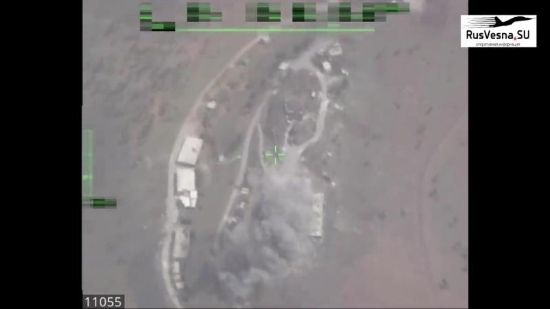 Лётчики-снайперы уничтожили иностранный разведцентр на юге Сирии