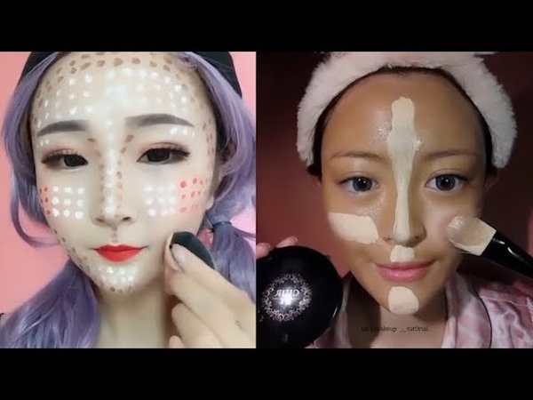 보면볼수록 빠져드는 컨투어링 메이크업 영상모음13, Beauty base contouring makeup tutorial13
