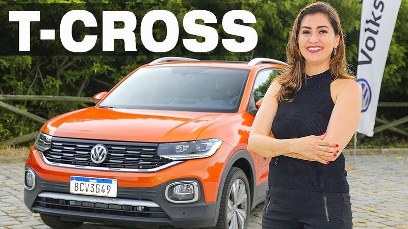VW T-Cross 2020 ele é pequeno, mas vai dar trabalho pra concorrência