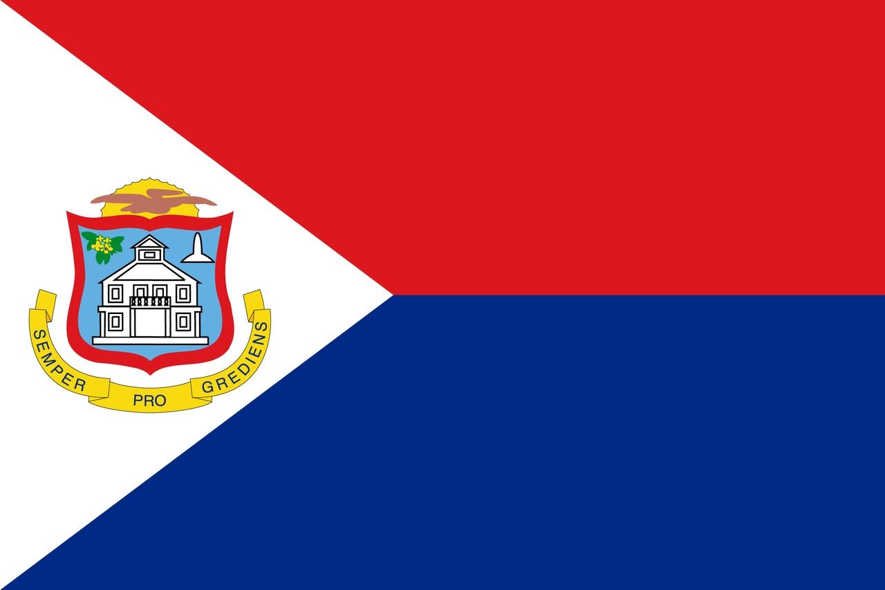 Флаг Синт-Мартен