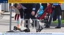 Новости на Россия 24 • Мэр Киева Кличко упал с велосипеда с моторчиком по дороге на работу