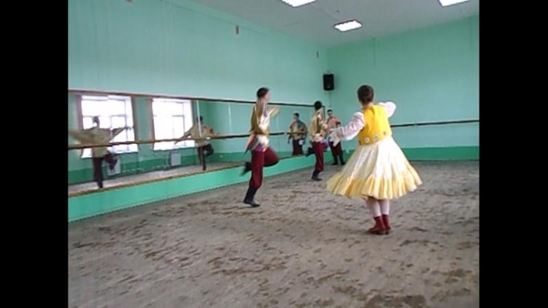 09 10 2018г КемГИКИ ДОД хореография Показ гостям от анс студенческого Молодой Кузбасс