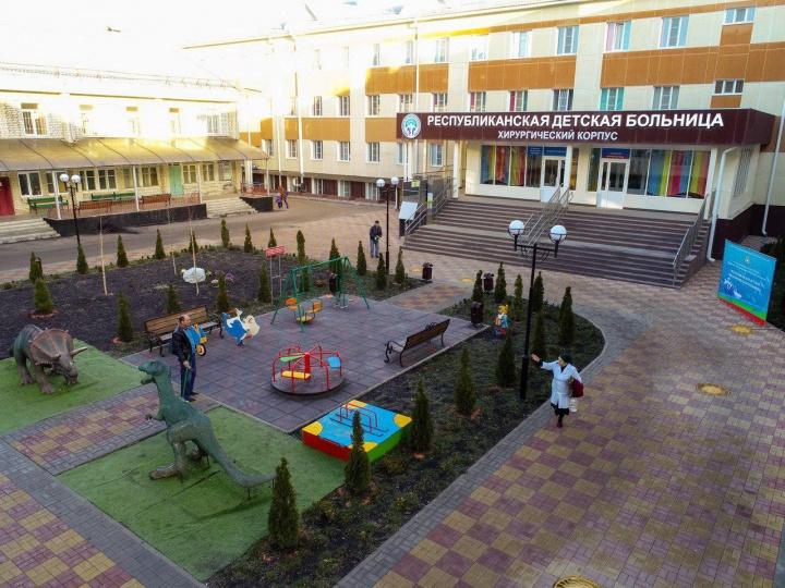 В Черкесске открыли новую многопрофильную детскую больницу