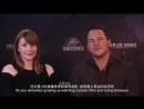 China Bryce Dallas Howard and Chris Pratt promote Jurassic World Fallen Kingdom