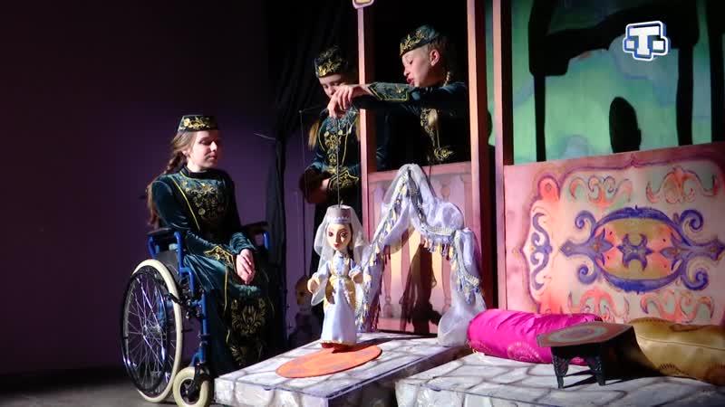 В стенах Крымскотатарского академического музыкально драматического театра выступили дети с ограниченными возможностями