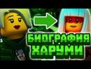 НИНДЗЯГО БИОГРАФИЯ ХАРУМИ на момент 8 сезонна LEGO NINJAGO HARUMI