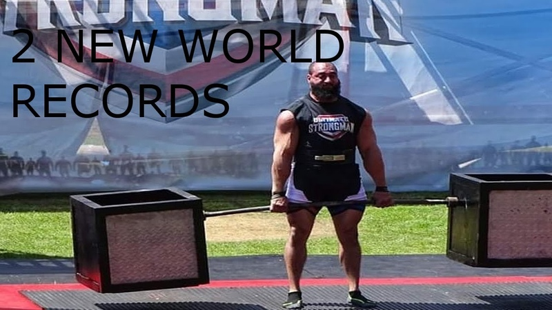 Ultimate Strongman | 150kg330lbs DUMBBELL WORLD RECORD