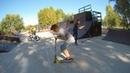 трюки на самокате скейтпарк в Братеево 20180914