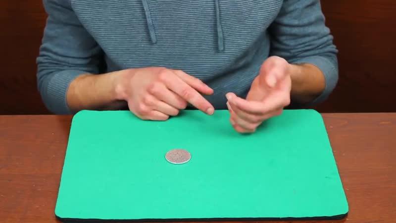 Фокус с исчезновением монеты