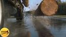 Жуткая автокатастрофа с лесовозом Фильм Пункт назначения 2 2003 год