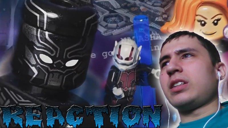 Новая реакция на Мстители: лего версия