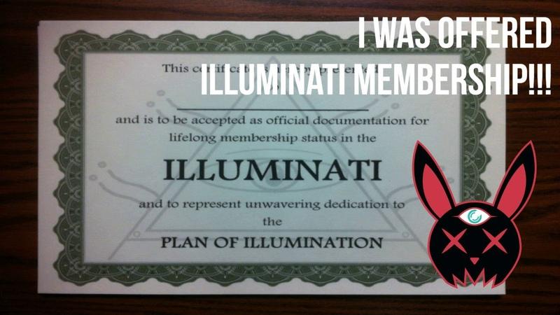 I Was Offered Illuminati Membership