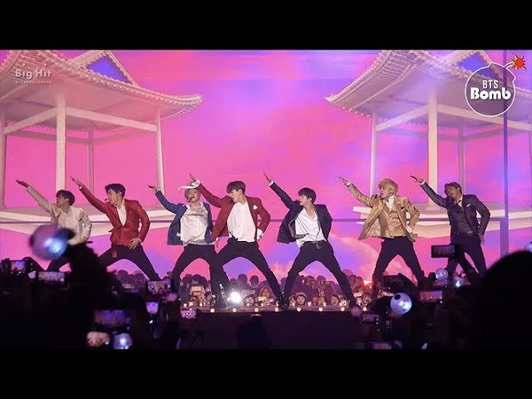 [BANGTAN BOMB] 'IDOL' Special Stage (BTS focus) @2018 AAA - BTS (방탄소년단)