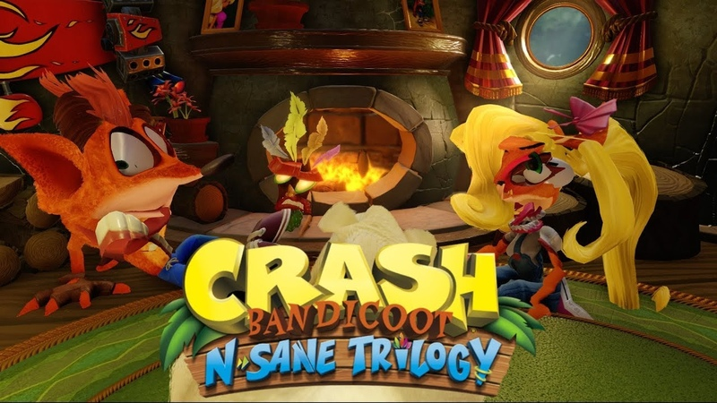 Crash Bandicoot N. Sane Trilogy - Hrm, This is one fine looking Remaster.