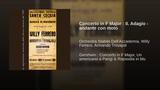 Concerto in F Major II. Adagio - andante con moto