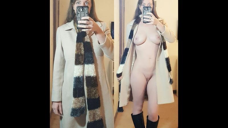 Periscope малолетка показала что у ниё под пальто