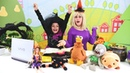 Cadı Katy'nin sihir sınavı var! Barbie dönüştürme oyunu