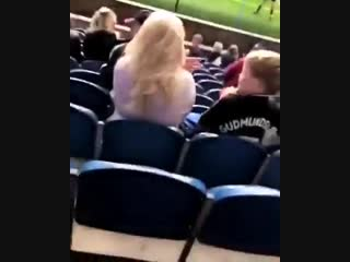 The risk of sitting behind the goal
