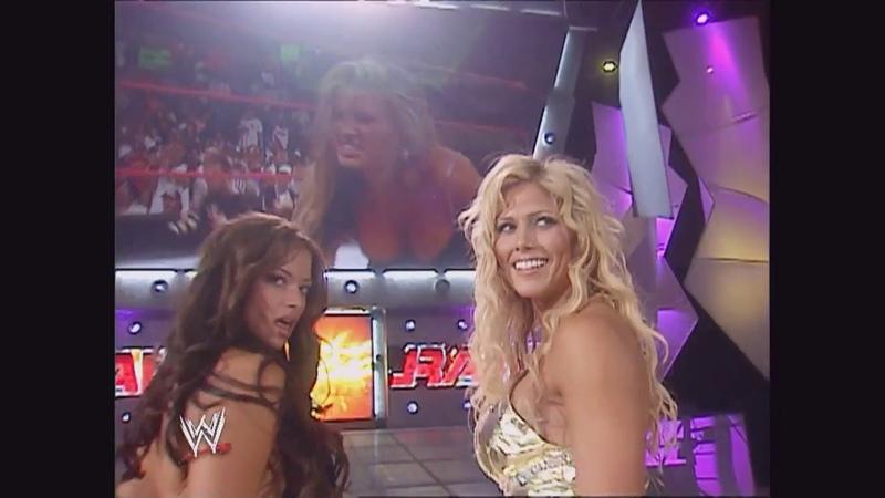 Torrie Wilson, Candice Michelle Ashley Segment: Raw, Aug. 22, 2005
