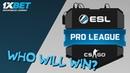 CS:GO ESL PRO LEAGUE Season 8 Finals / Promo by 1xBet
